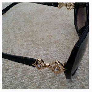 Diamond Shape Crystal Sunglasses